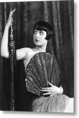 Louise Brooks, Late 1920s Metal Print by Everett