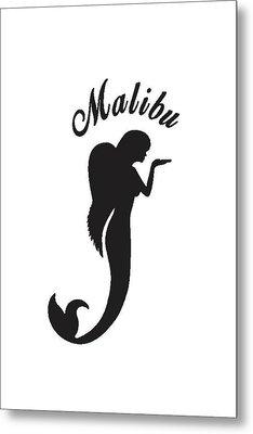Malibu Mer Angels Metal Print by Chrystyna Wolford