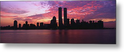 New York Ny Metal Print by Panoramic Images
