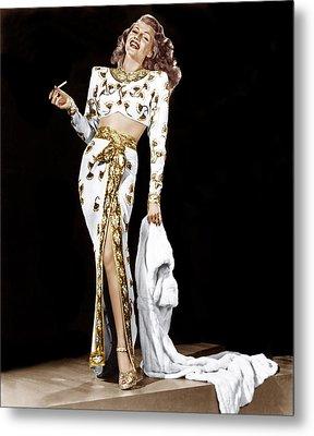 Rita Hayworth, 1940s Metal Print by Everett