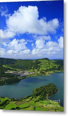 Sete Cidades - Azores Metal Print by Gaspar Avila