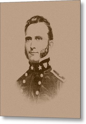 Stonewall Jackson Metal Print by War Is Hell Store