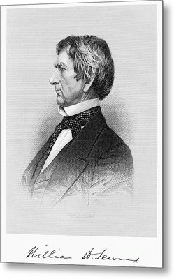 William Seward (1801-1872) Metal Print by Granger
