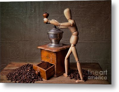 Working The Mill Metal Print by Nailia Schwarz