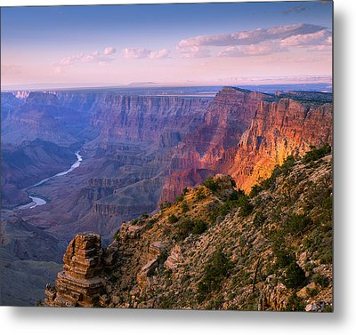 Canyon Glow Metal Print by Mikes Nature