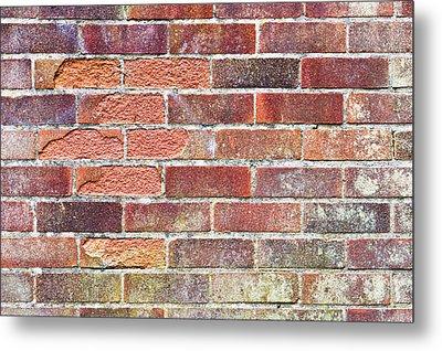 Brick Wall Metal Print by Tom Gowanlock