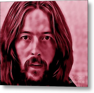 Eric Clapton Collection Metal Print by Marvin Blaine