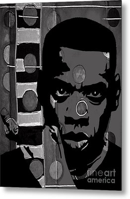 Jay Z Collection Metal Print by Marvin Blaine