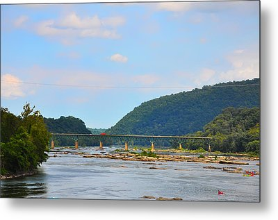340 Bridge Harpers Ferry Metal Print by Bill Cannon