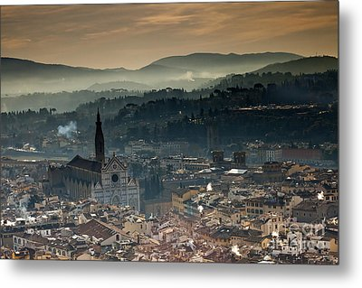 Florence Metal Print by Andre Goncalves