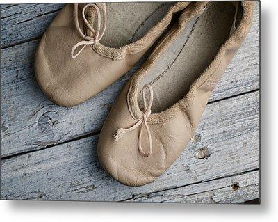 Ballet Shoes Metal Print by Nailia Schwarz