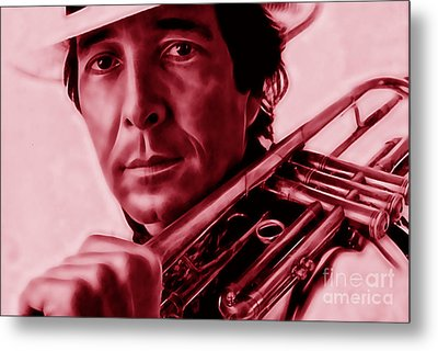 Herb Alpert Collection Metal Print by Marvin Blaine