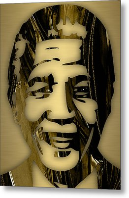 Nelson Mandela Collection Metal Print by Marvin Blaine