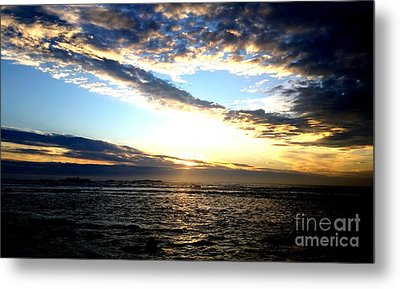 Sunrise Metal Print by Joyce Woodhouse