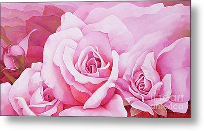 The Rose  Metal Print by Myung-Bo Sim