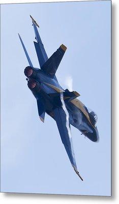 Us Navy Blue Angels Poster Metal Print by Dustin K Ryan