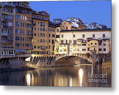 Vecchio Bridge Metal Print by Andre Goncalves