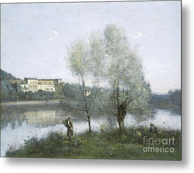 Ville D'avray Metal Print by Jean Baptiste Camille Corot