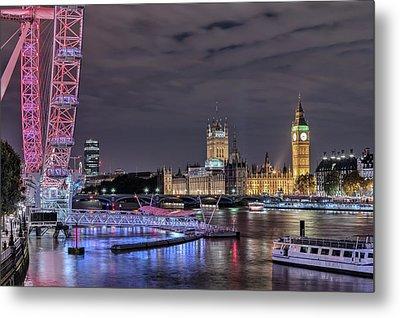 Westminster - London Metal Print by Joana Kruse