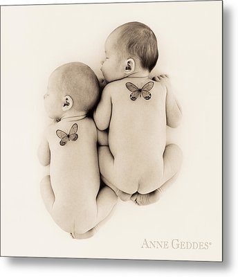 Untitled Metal Print by Anne Geddes