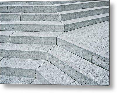Stone Steps Metal Print by Tom Gowanlock
