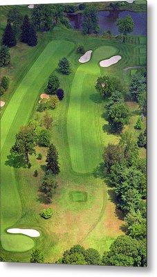 4th Hole Sunnybrook Golf Club 398 Stenton Avenue Plymouth Meeting Pa 19462 1243 Metal Print by Duncan Pearson