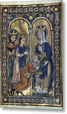 Adoration Of Magi Metal Print by Granger