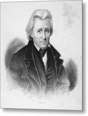 Andrew Jackson (1767-1845) Metal Print by Granger