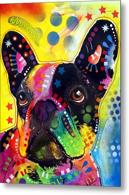 French Bulldog Metal Print by Dean Russo