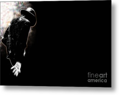 Michael Jackson Collection Metal Print by Marvin Blaine