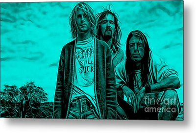 Nirvana Collection Metal Print by Marvin Blaine