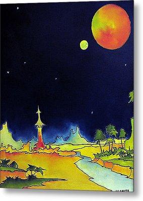 Planet X Metal Print by James Smith