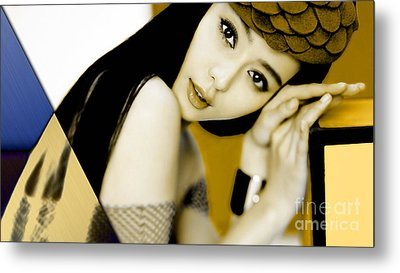 Beauty Collection Metal Print by Marvin Blaine