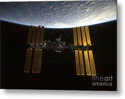 International Space Station Metal Print by Stocktrek Images