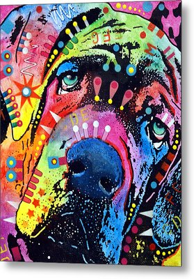 Neo Mastiff Metal Print by Dean Russo