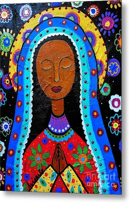 Our Lady Of Guadalupe Metal Print by Pristine Cartera Turkus