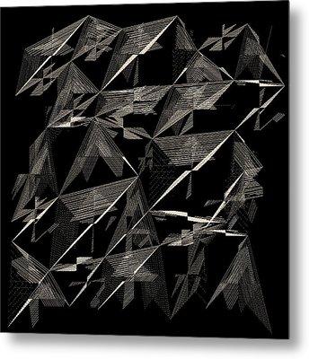 6144.2.9 Metal Print by Gareth Lewis