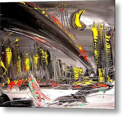 Cityscape Metal Print by Mark Kazav
