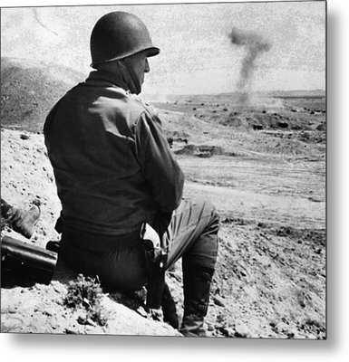 General George S. Patton Jr. 1885-1945 Metal Print by Everett