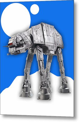 Star Wars At-at Collection Metal Print by Marvin Blaine