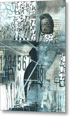 8 Directions To Take Metal Print by Laura  Lein-Svencner