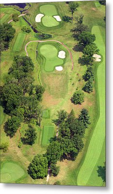 8th Hole Sunnybrook Golf Club 398 Stenton Avenue Plymouth Meeting Pa 19462 1243 Metal Print by Duncan Pearson