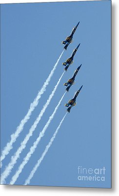 Blue Angels Metal Print by Celestial Images