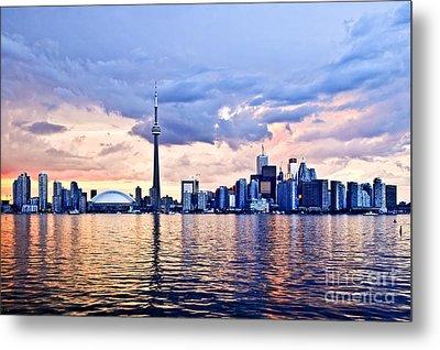 Toronto Skyline Metal Print by Elena Elisseeva
