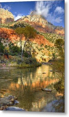Zion National Park Utah Metal Print by Utah Images