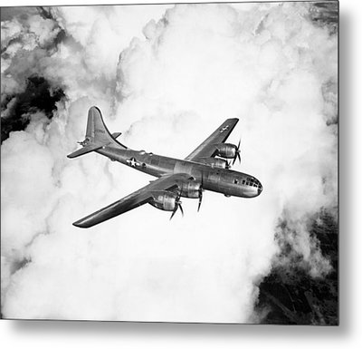 A Boeing B-29 Superfortress, Circa 1944 Metal Print by Everett