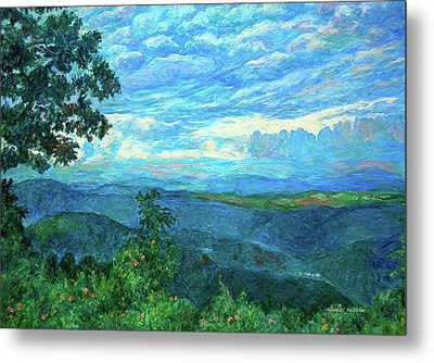 A Break In The Clouds Metal Print by Kendall Kessler