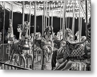 The Carousel Ride Metal Print by Tod and Cynthia Grubbs