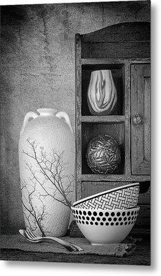 A Corner Of The Kitchen Metal Print by Tom Mc Nemar