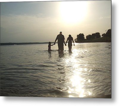 A Father's Love Metal Print by Ali Dover